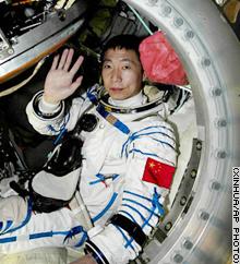 Astronauta Chinês - demonstração de superioridade tecnológica e militar